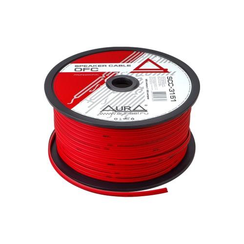 Акустический кабель Aura SCC-3151 Red