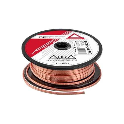 Акустический кабель Aura 2,5 mm^2 (прозрач.изоляция, Россия)