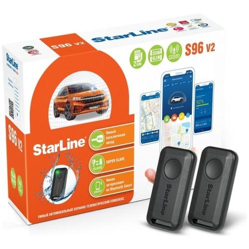 Сигнализация StarLine S96 BTv2 GSM (2CAN+4LIN) 2SIM