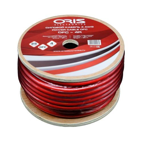 Силовой кабель Oris Electronics OFC-4R (4Ga)