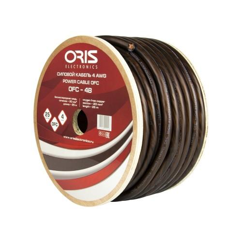 Силовой кабель Oris Electronics OFC-4B (4Ga)